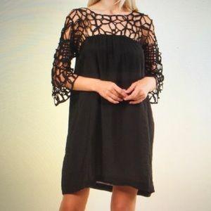 Hot & Delicious Black Lace Dress.